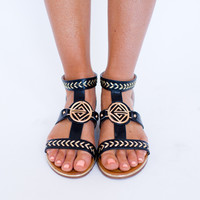 TRIBAL GLADIATOR- BLACK