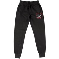 BRED BAWS Black French Terry Joggers