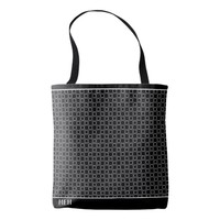 BW Bubbles Minor Monogram Tote Bag