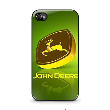 john deere iphone 4 4s case cover  number 1