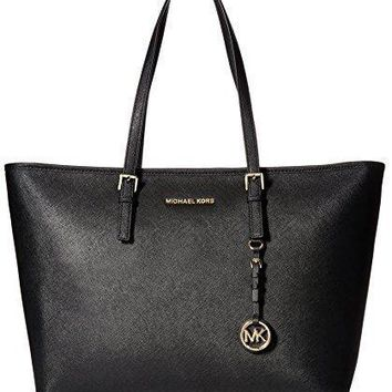 Michael Kors Women's Jet Set Travel Medium Top Zip Tote Bag
