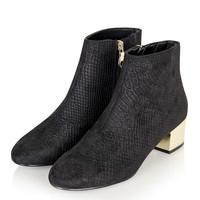 BETTY Patent Boots - Topshop