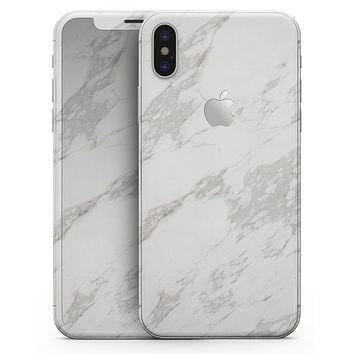 Marble Surface V3 - iPhone X Skin-Kit