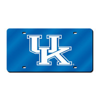 Kentucky Wildcats NCAA Laser Cut License Plate Cover