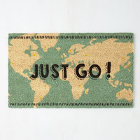 Travel Overseas What I Mean? Doormat by ModCloth