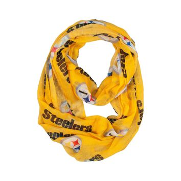 Pittsburgh Steelers Infinity Scarf - Alternate