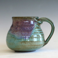 Coffee Mug Pottery, unique coffee mug, handmade ceramic cup, handthrown mug, stoneware mug, wheel thrown pottery mug, ceramics and pottery