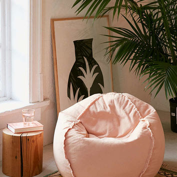 Exposed Seam Bean Bag Chair - Urban Outfitters