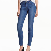 Skinny Regular Ankle Jeans - from H&M
