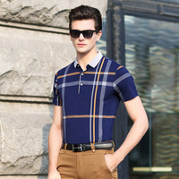 Summer Men Stripes Print T-shirts [6542448579]
