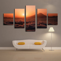 """Fashion sunset"" Canvas Printings"