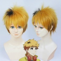 Anangel Free Hair Cap+ for Adults for Kids Tokyo Ghoul Nagachika Hide Cosplay Wig Cosplay Convention Costume Wigs