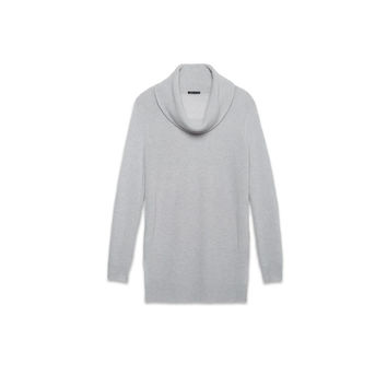 Theory Fall 2014   Madalinda Cashmere Sweater   Icy Grey, Medium