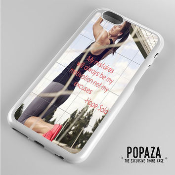 Hope Solo Quote iPhone 6 Case Cover