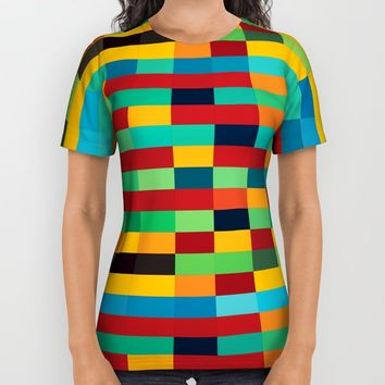 Let Us Play All Over Print Shirt by Liberation's | Society6