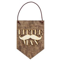 Little Man - Baby Boy Decor - Nursery Decor Sign