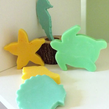Beach Theme Soaps for Baby Shower Favors or Birthday Party Favors, Nautical Theme, Guest Soap, or Even Wedding Favors!