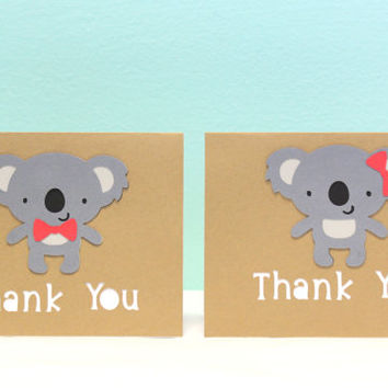 Koala Thank You Card - Koala Card