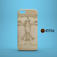 BENDER VITRUVIAN Design Custom Case by ditto! for iPhone 6 6 Plus iPhone 5 5s 5c iPhone 4 4s Samsung Galaxy s3 s4 & s5 and Note 2 3 4
