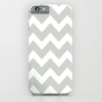 Chevron Sea Salt iPhone & iPod Case by Beautiful Homes