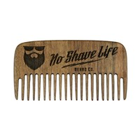 OG Logo Walnut Beard Comb