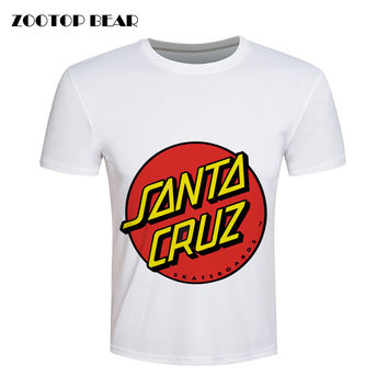 Santa Cruz T shirt Men Skateboard