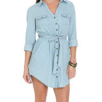 Chambray Shirt Dress | Shop Just Arrived at Wet Seal