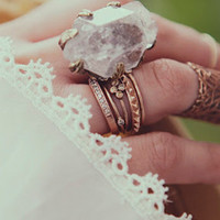 Crystal Visions Feather Ring SOLD OUT Â« Spell & the Gypsy Collective.