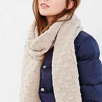 Bickley + Mitchell Wool Blend Scarf- Ivory One