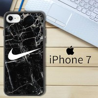 Nike Black Marble Z5384 iPhone 7 Case