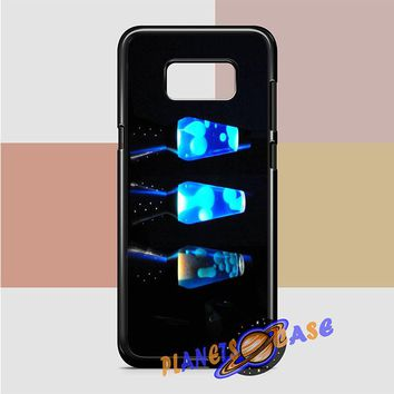 Lava Lamp (blues) Samsung Galaxy Case