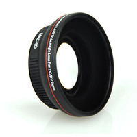 67mm Wide-Angle Lens Adapter 0.45x for Canon 18-135 or Nikon 18-105 SLR Cameras