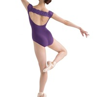Bloch Allaire Embroidery Anglaise Cap Sleeve Leotard / Bloch