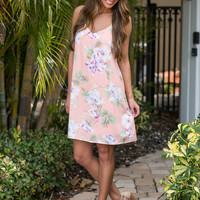 Heart Of Country Floral Dress Peach