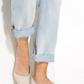 Scalloped Ballerina, NLY Shoes