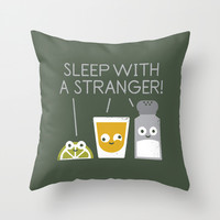 Sublimeinal Message Throw Pillow by David Olenick