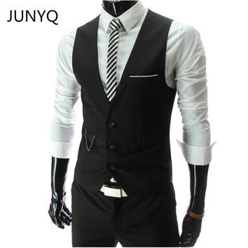 New Arrival Dress Vests For Men Slim Fit Mens Suit Vest