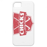 Field Hockey Chicks With Sticks iPhone 5 Cases