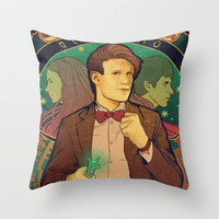 Geronimo! Throw Pillow by Megan Lara | Society6