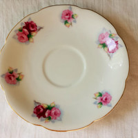 Vintage China Saucer, Made In Occupied Japan