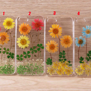 iPhone 6 case iPhone 6 plus Pressed Flower, iPhone 5/5s case, iPhone 4/4s case, 5c case Galaxy S4 S5 Note 2 note 3 Real Flower case NO:F225