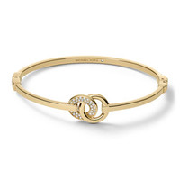 Michael Kors Interlock Circles Bracelet, Golden
