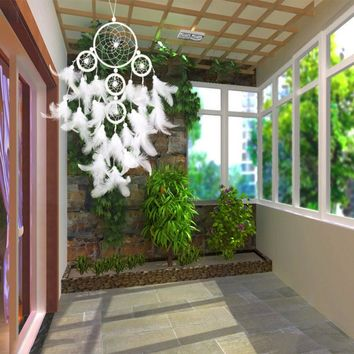 Modern dream catcher hanging with Feathers Dreamcatcher Hanging Decoration Dreamcatcher Net Hourse Decoration