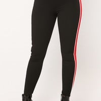 Get In Line Leggings - Black