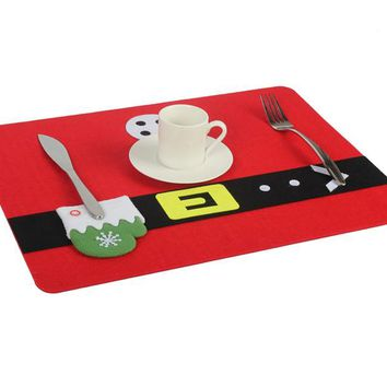Christmas Decoration Dining Table Mat