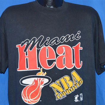90s Miami Heat t-shirt Extra Large