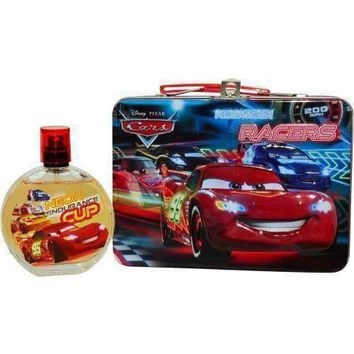 CARS 2 by Disney EDT SPRAY 3.4 OZ & LUNCH BOX