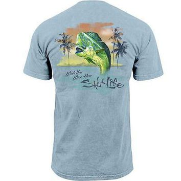 Salt Life Men's Wish You Were Here T-Shirt