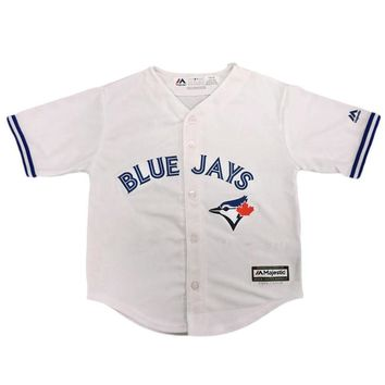 Toronto Blue Jays 2015 CHILD Cool Base Replica Home MLB Baseball Jersey
