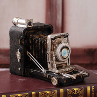 Decoration Weathered Camera Shape Home Decor [6282540806]